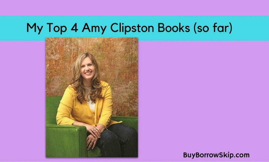4 of Amy Clipston's Best Books (so far)