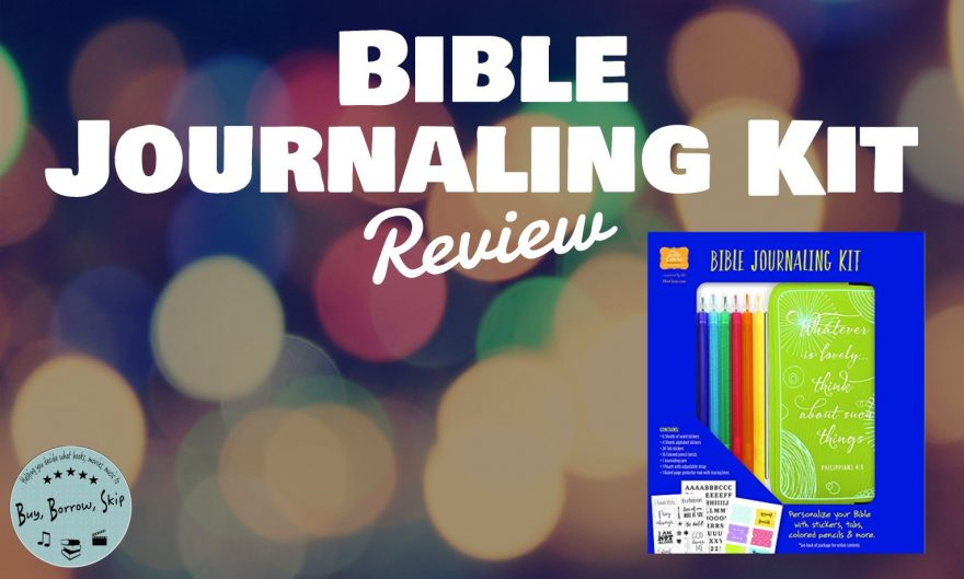 Bible Journaling Kit Review