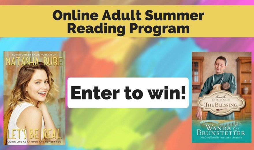 Online Adult Summer Reading Program: Week 9 Prize and Update