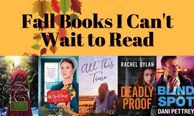 Fall Books I Can't Wait to Read