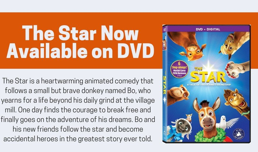 The Star Now Available on DVD with Bonus Features