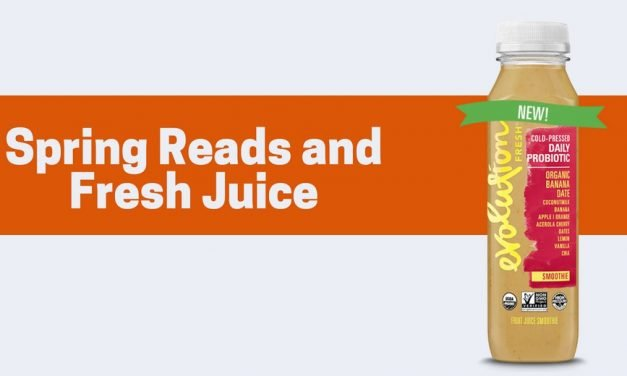 Spring Reads and Fresh Juice