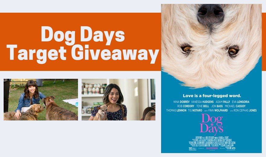 Dog Days Target Gift Card Giveaway