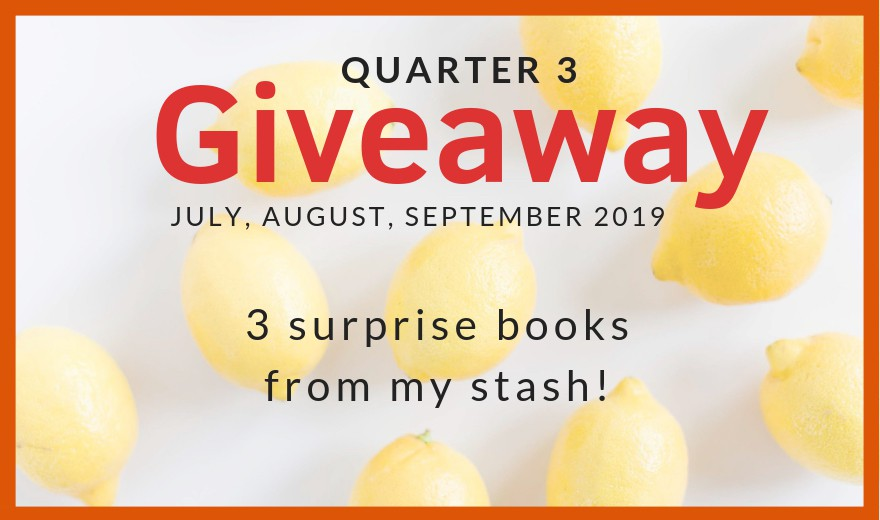2019 Quarterly Giveaway #3
